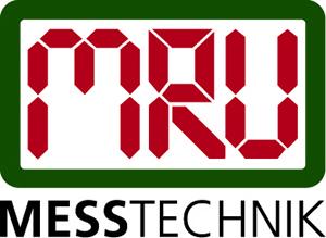 Logo MRU Messtechnik rot grün fertig